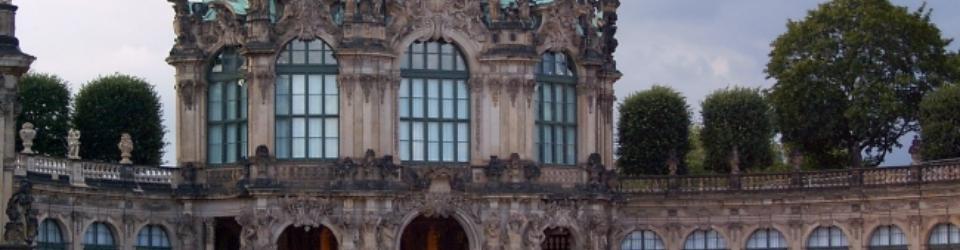 Rokoko w architekturze. Zwinger, Drezno